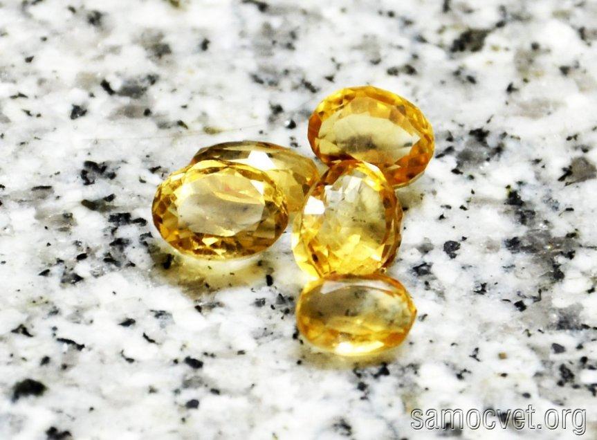 Цитрин камень свойства
